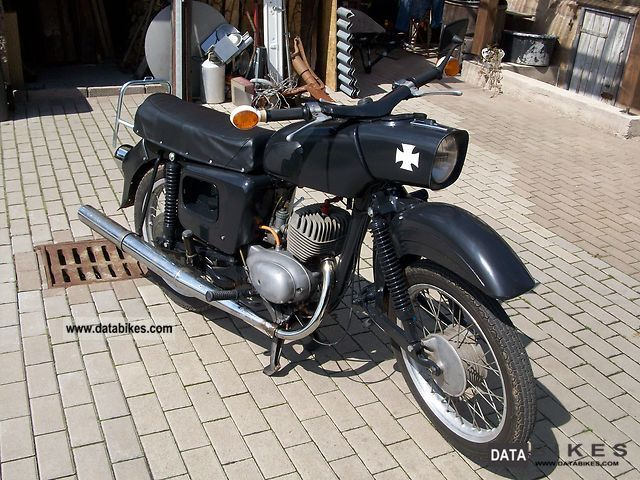 Mz  ES 125 1972 Vintage, Classic and Old Bikes photo