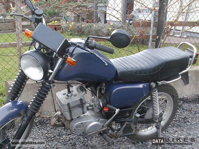 1992 Mz  ETZ 125 Motorcycle Motorcycle photo