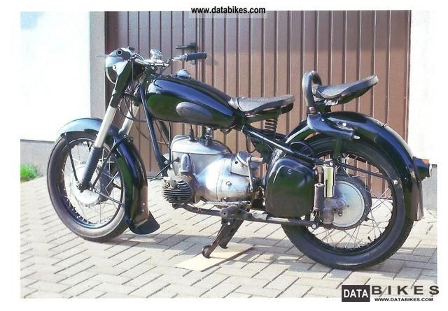 Mz  BK 350 1958 Vintage, Classic and Old Bikes photo