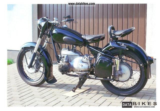 1958 Mz  BK 350 Motorcycle Other photo