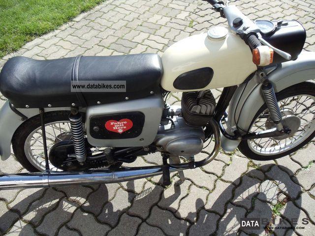 1977 Mz  ES 150 Motorcycle Motorcycle photo