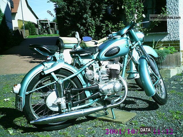 Mz  RT 125/3 1959 Vintage, Classic and Old Bikes photo