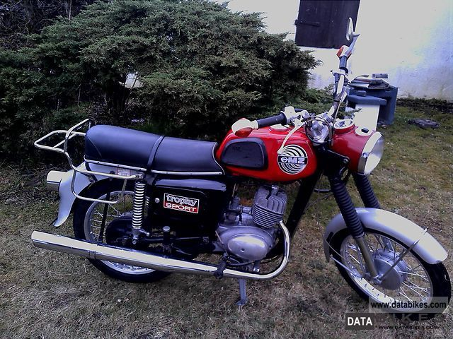 Mz  New ETS 150/1 Trophy Sports TÜV 1973 Vintage, Classic and Old Bikes photo
