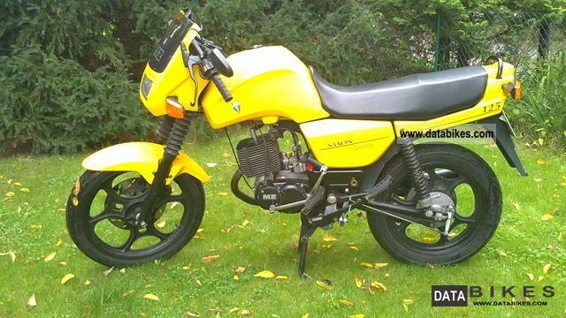1998 Mz  Saxon 125 Motorcycle Motorcycle photo
