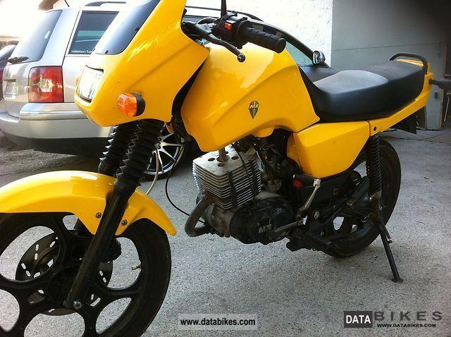 1996 Mz  Saxon Sportstar Motorcycle Lightweight Motorcycle/Motorbike photo