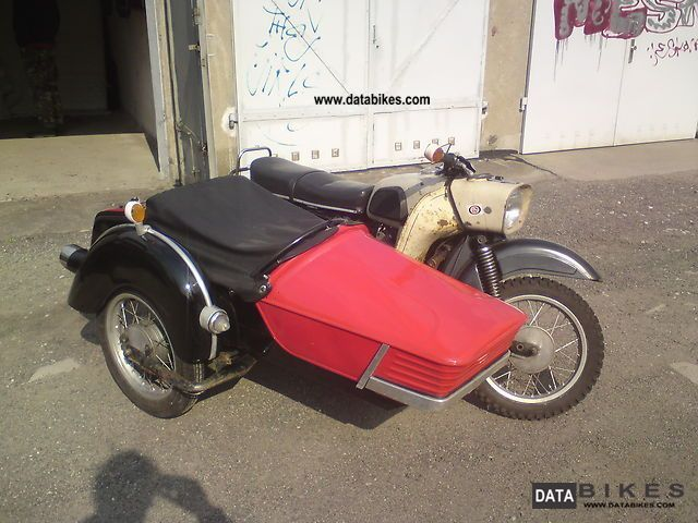 1973 Mz  ES 250/2 Motorcycle Combination/Sidecar photo