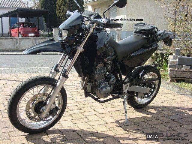 2001 Mz  Baghira Black Panther Motorcycle Super Moto photo