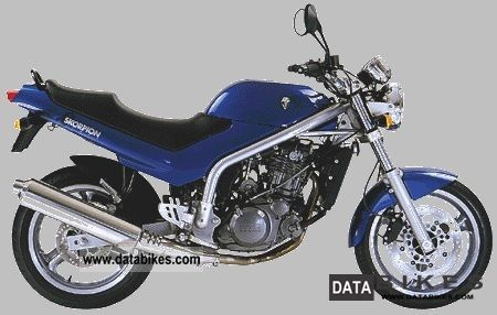 1999 Mz  Scorpio 660 Motorcycle Naked Bike photo