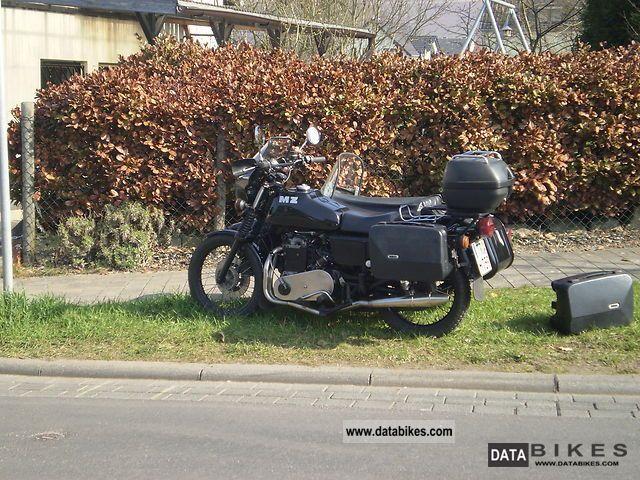 1984 Mz  ETZ 850 diesel Motorcycle Combination/Sidecar photo