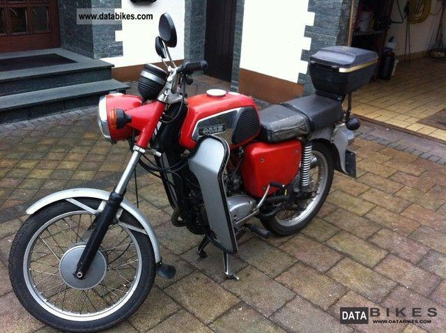 1981 Mz  TS 125 Motorcycle Motorcycle photo