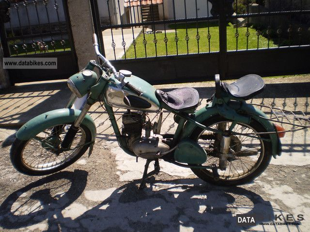 1956 Mz  RT 125 Motorcycle Chopper/Cruiser photo