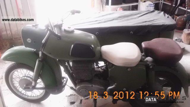 1967 Mz  250/2 team Motorcycle Combination/Sidecar photo