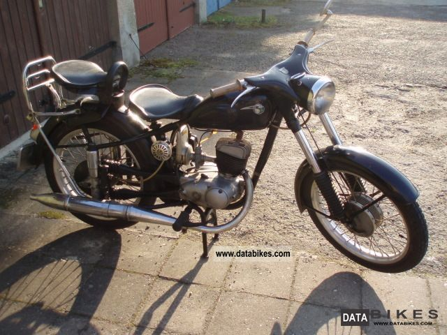 Mz  RT 125/3 1962 Vintage, Classic and Old Bikes photo