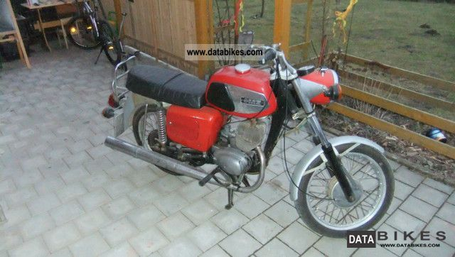 Mz  TS 125 1979 Vintage, Classic and Old Bikes photo