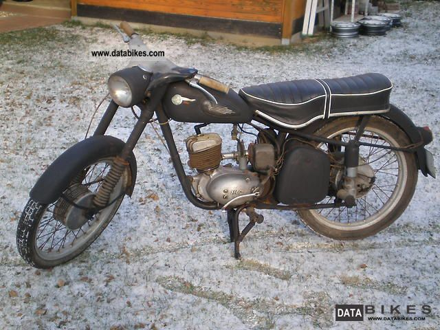 Mz  RT 125/3 1960 Vintage, Classic and Old Bikes photo