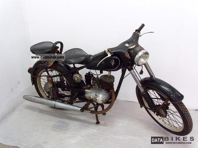 Mz  RT 125-1 1955 Vintage, Classic and Old Bikes photo