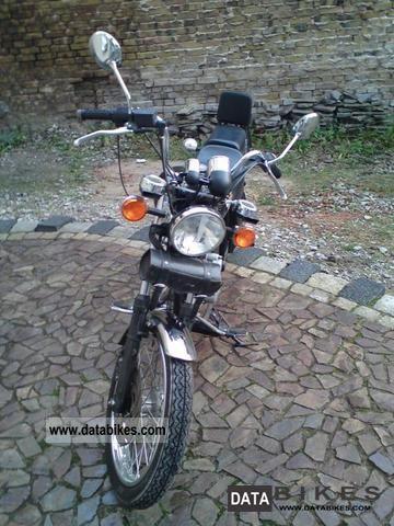 1997 Mz  Horex Emperor 125 Motorcycle Chopper/Cruiser photo