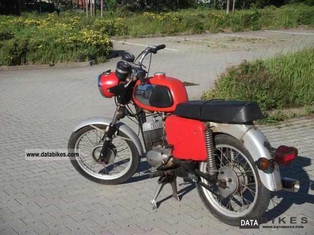 1982 Mz  TS 125 Motorcycle Motorcycle photo