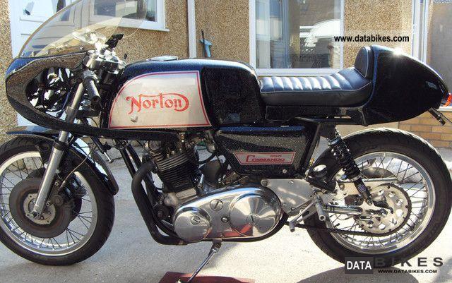 1969 Commando Motorcyle
