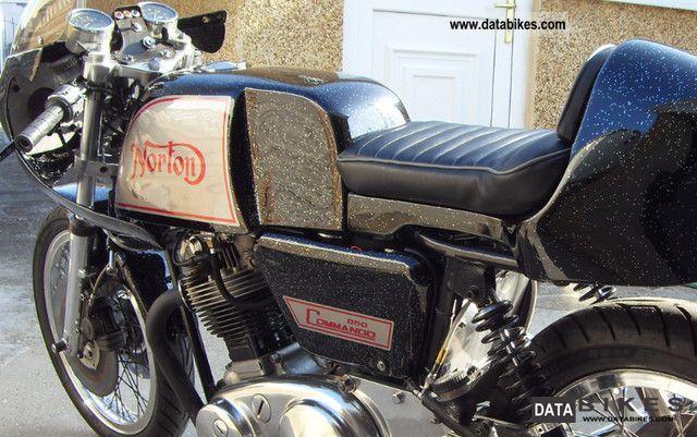 1969 Commando Motorcycle