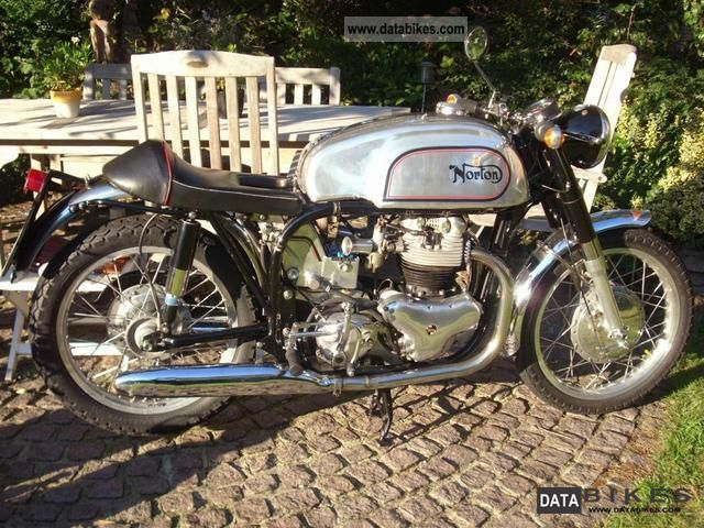Norton  Dominator 88 Cafe Racer 1956 Vintage, Classic and Old Bikes photo