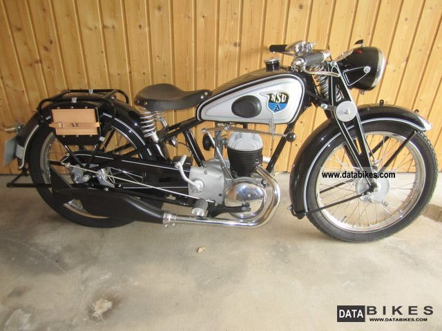 NSU  Pony 200 1939 Vintage, Classic and Old Bikes photo