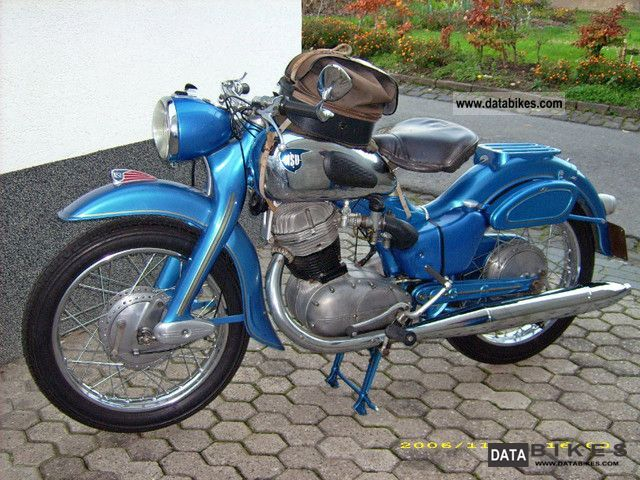 NSU  up special 1956 Vintage, Classic and Old Bikes photo