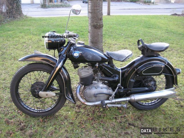 NSU  LUX type 201ZB 1952 Vintage, Classic and Old Bikes photo