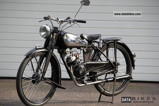 1951 NSU  Quick Motorcycle Lightweight Motorcycle/Motorbike photo