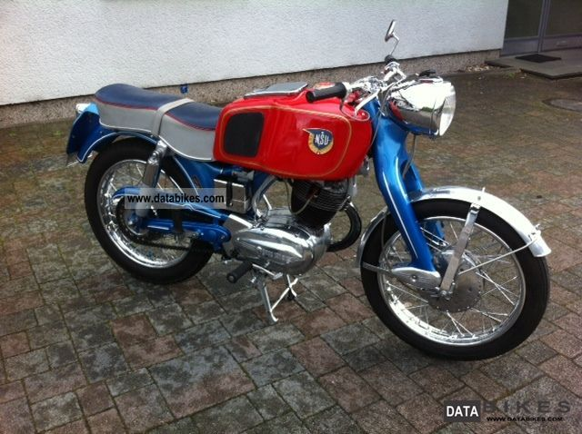 NSU  251 OSB Max 1957 Vintage, Classic and Old Bikes photo