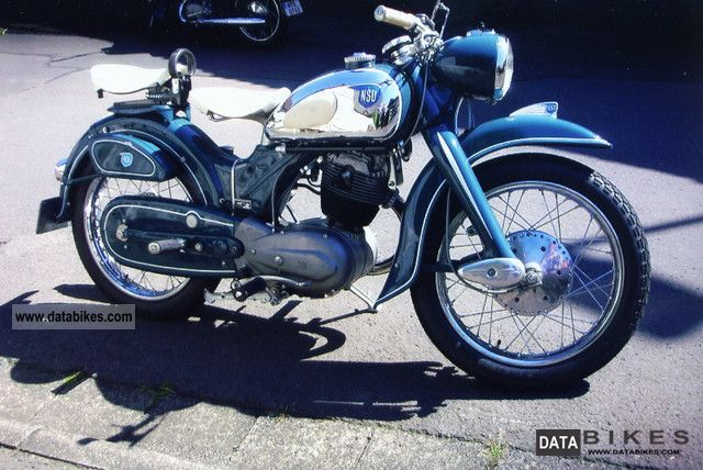 NSU  MAX Special 1954 Vintage, Classic and Old Bikes photo