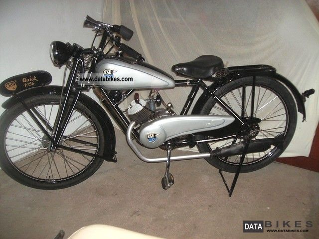 NSU  Quick 98 1936 Vintage, Classic and Old Bikes photo