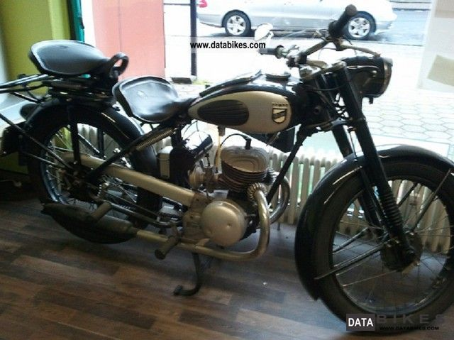 NSU  RIXE ILO 175 engine 1951 Vintage, Classic and Old Bikes photo