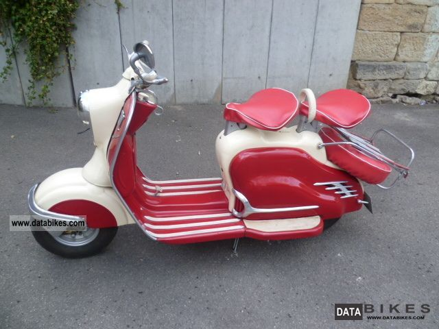 NSU  Lambretta 11/150 Prima D 1957 Vintage, Classic and Old Bikes photo