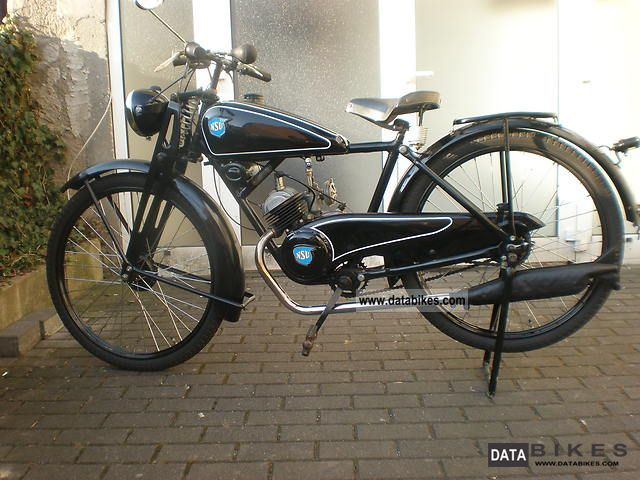1948 NSU  Quick Motorcycle Lightweight Motorcycle/Motorbike photo