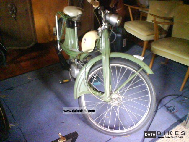 1956 NSU  Quickly Motorcycle Motor-assisted Bicycle/Small Moped photo