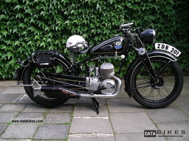1936 NSU  ZDB 201 Motorcycle Motorcycle photo