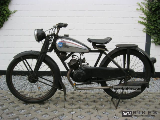NSU  98 Quick 1950 Vintage, Classic and Old Bikes photo