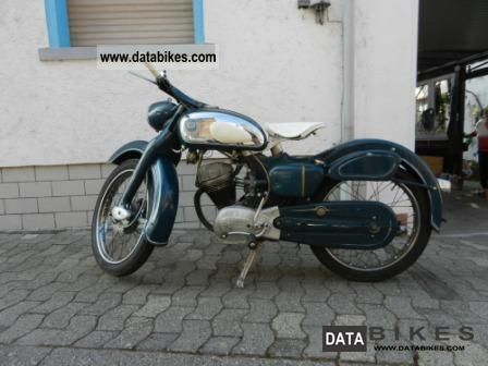 NSU  Superfox 125 1956 Vintage, Classic and Old Bikes photo