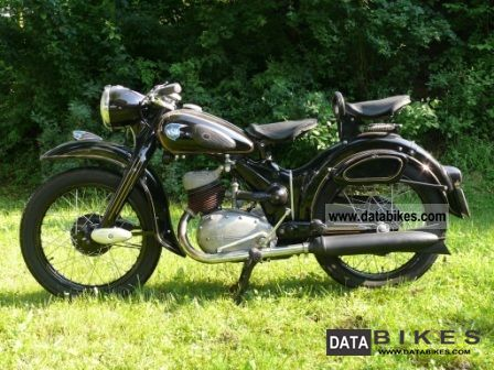 1953 NSU  LUX Motorcycle Motorcycle photo