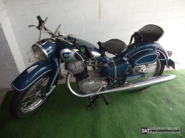 NSU  251OSB High Standard 1954 Vintage, Classic and Old Bikes photo