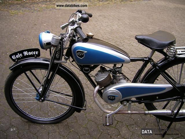 NSU  Quick 1940 Vintage, Classic and Old Bikes photo