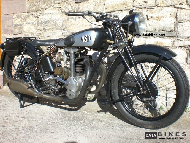 NSU  OSL 351 1933 Vintage, Classic and Old Bikes photo