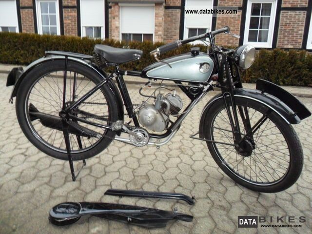 NSU  Quick 1937 Vintage, Classic and Old Bikes photo