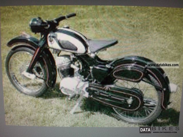 NSU  4stroke SUPERFOX in parts (unassembled but COMPLETE) 1957 Vintage, Classic and Old Bikes photo