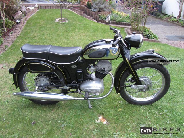 NSU  Super Fox OSB 125 Superfox 1957 Vintage, Classic and Old Bikes photo