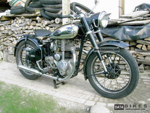 NSU  Consul 1350 cm3 1953 Vintage, Classic and Old Bikes photo