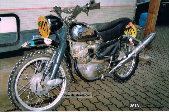 NSU  300 1957 Vintage, Classic and Old Bikes photo