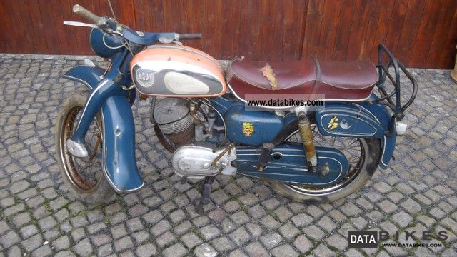 NSU  Maxi 1957 Vintage, Classic and Old Bikes photo