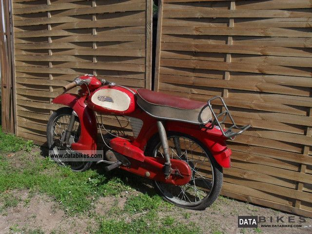 NSU  NSU Quickly TT K 1960 Vintage, Classic and Old Bikes photo